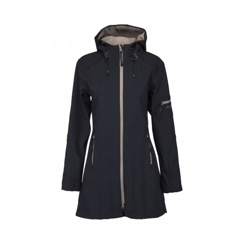 Ilse Jacobsen Rain 07B 3/4 Length Soft-shell Coat
