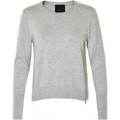 Unnur Sweater With Zip