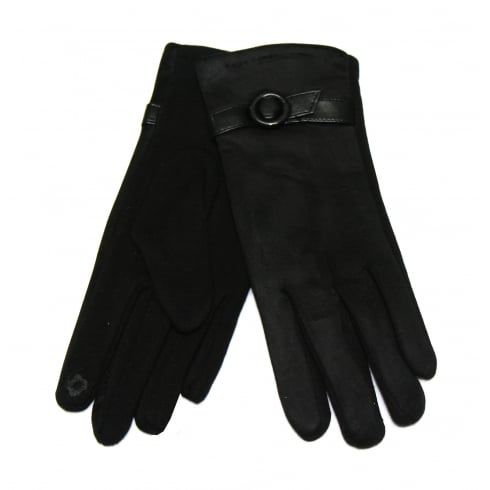 Something For Me Ladies Black Something For Me Touch Screen Gloves - 391801