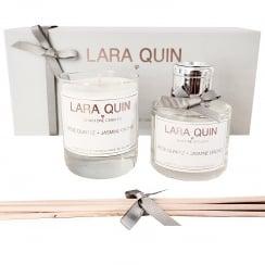 Luxury Candle Gift Set | ROSE QUARTZ + JASMINE ORCHID