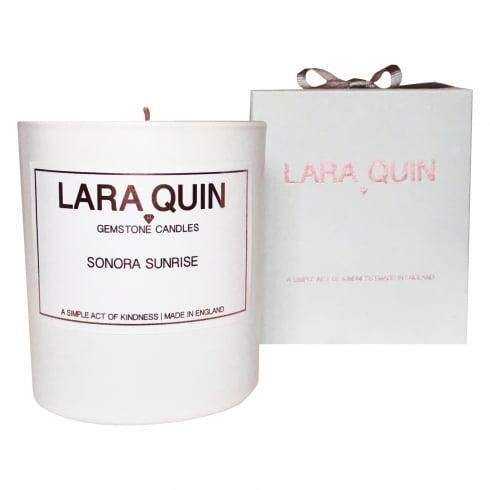 Lara Quin Luxury Candle | SONORA SUNRISE