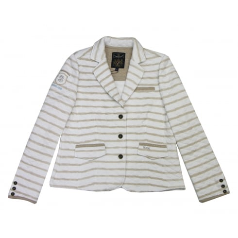 L'Argentina White Blazer Jacket - 182.BLA.30.31