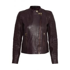 LEI INWEAR LEATHER JACKET