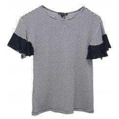 Leo & Ugo Striped T-Shirt - TEE526