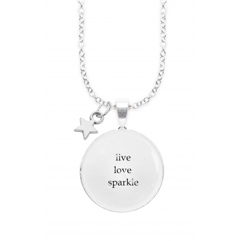 Winged Words LIVE LOVE WINGED WORDS NECKLACE