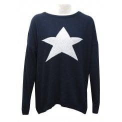 Luella Cashmere Sweater - Cashmere Star