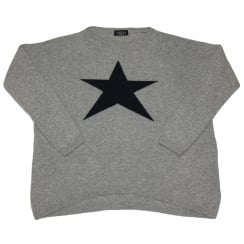 Luella Ladies Cashmere Jumper Cashmere Star