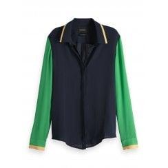 Maison Scotch Colour Block Shirt - 149788