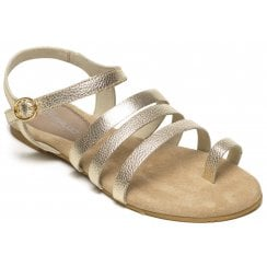 Maluo Flat Strappy Sandal - 2F-Jane