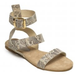 Maluo Sandal with Ankle Strap - 1C-Jada