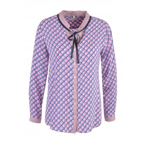 Milano Patterned Blouse - 6287-3433