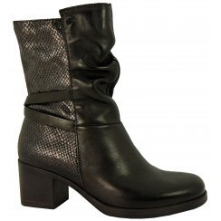 Mjus Chunky Heeled Ankle Boot 613210