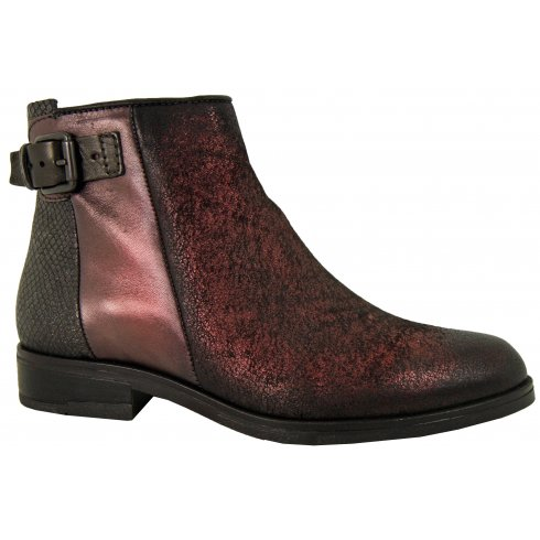 Mjus Ladies Flat Ankle Boot 767205
