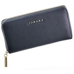 Navy Zohara Purse - Wellington
