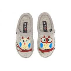 OLIVIA OWL HAFLINGER SLIPPERS