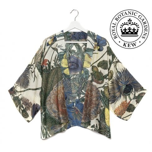 One Hundred Stars - Kew Gardens Kimono - Passion Flower & Hedgerow