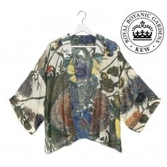 One Hundred Stars - Kew Gardens Kimono - Passion Flower & Hedgerow