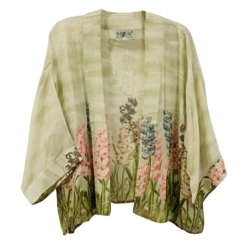 One Hundred Stars Kimono - Hyacinth