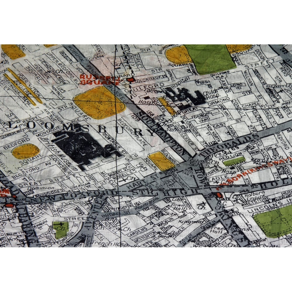 London map scarf from something for me click to enlarge gumiabroncs Choice Image