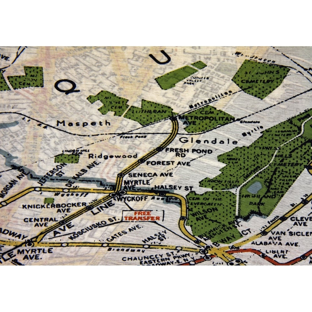 New york new york map scarf from something for me click to enlarge gumiabroncs Choice Image