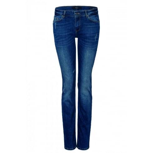 Oui 50043 Cara Straight Leg Jeans