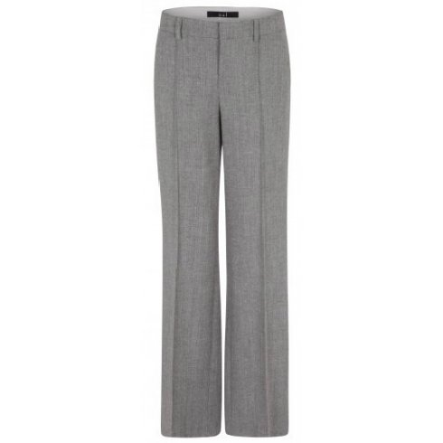 Oui Ladies Wide Leg Trouser 49933