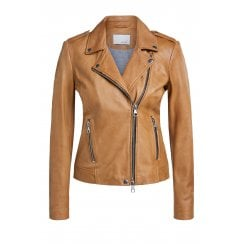 Oui Leather Jacket - 54814