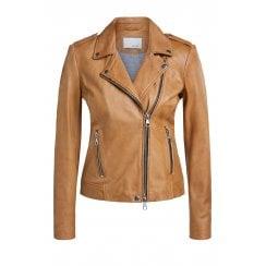 Oui Leather Jacket - 54814