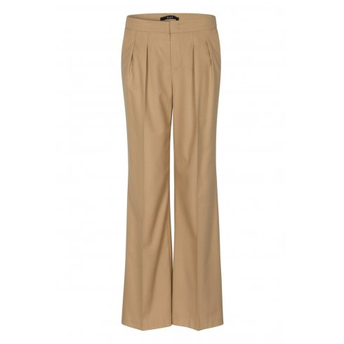 Oui Ladies Wide Leg Trouser  50679