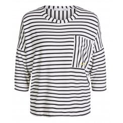 Oui Striped T-Shirt - 64516