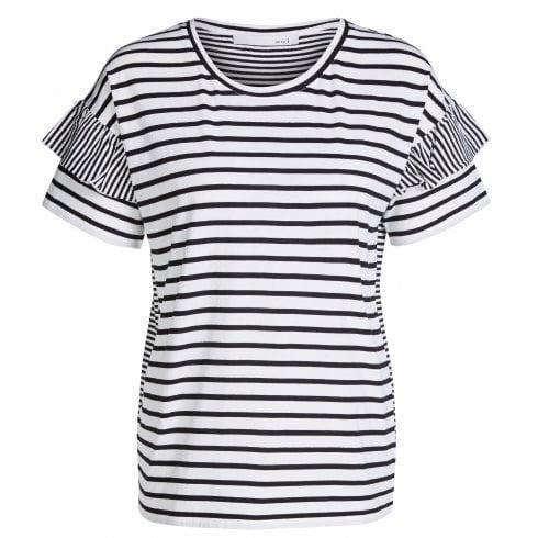 Oui Striped T-Shirt - 65150