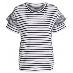 Oui Striped T-Shirt - 65150