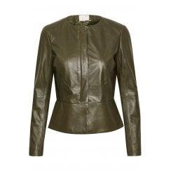 Part Two Leather Jacket Makala