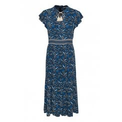 Part Two Mid-Maxi Paisley Printed Dress - Landeal 30304135