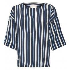 Part Two Nautical Striped Blouse - Radella 30304100