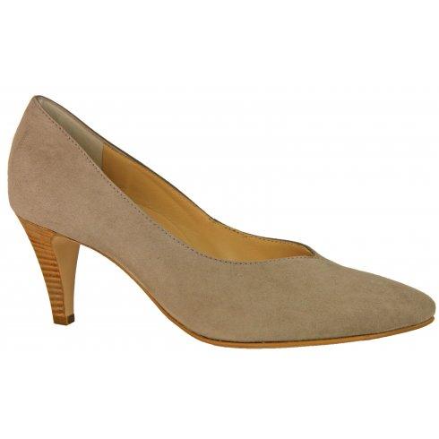 Paul Green 3389 Suede Court Shoe
