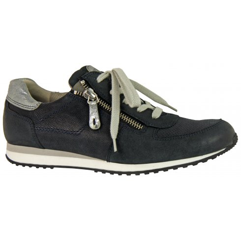 Paul Green 4252 Leather Trainer with Zip