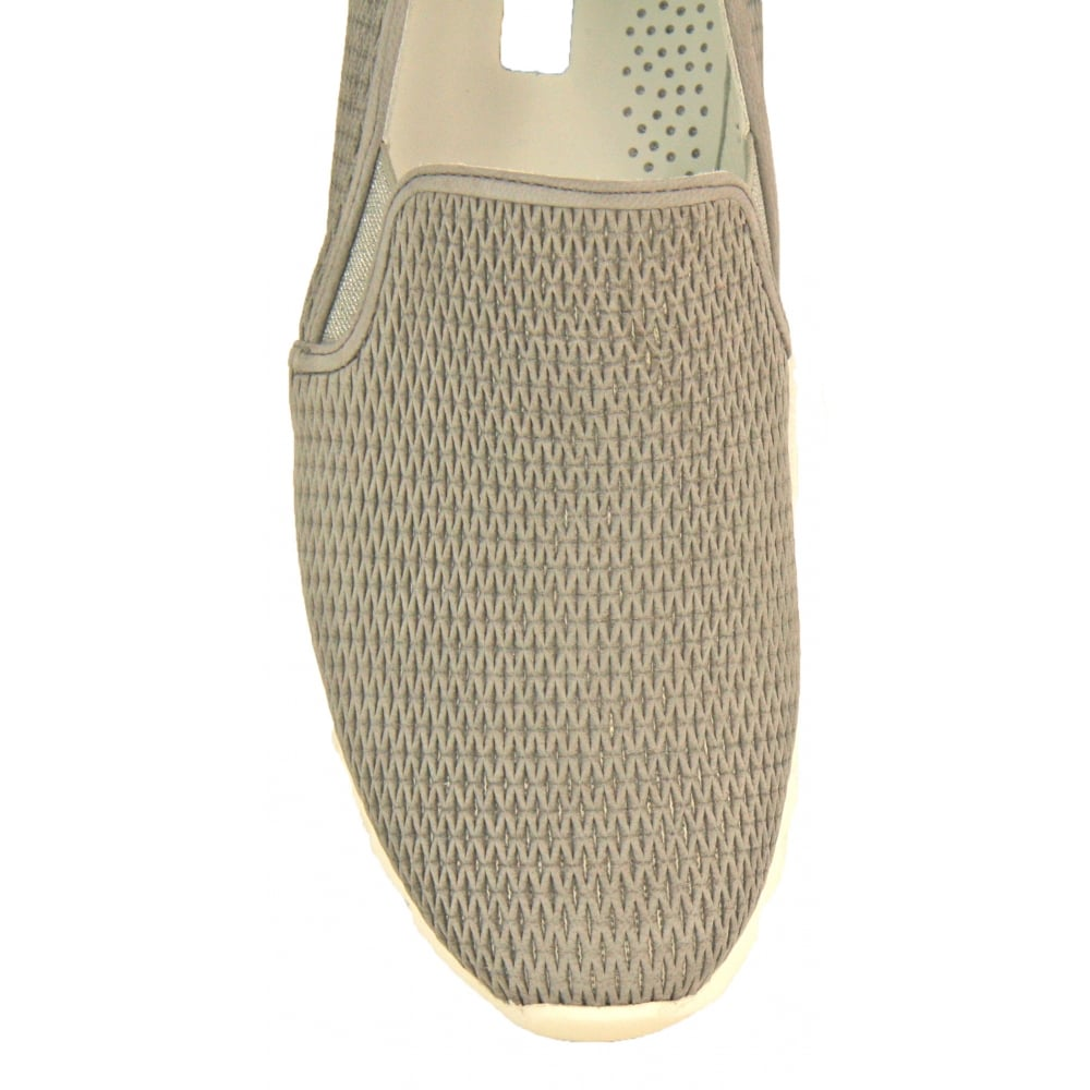 8bb5f052bc7c4 Grey Slip On Trainer Shoe 4445 S18 by Paul Green from Something For Me