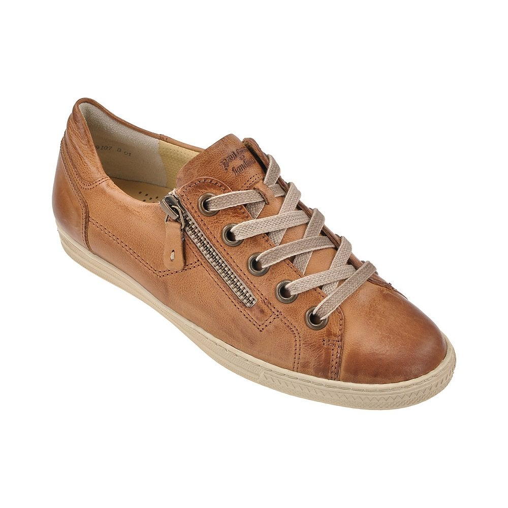 9223bb28d196b Paul Green@ 4128 trainers tan navy black silver leather free delivery