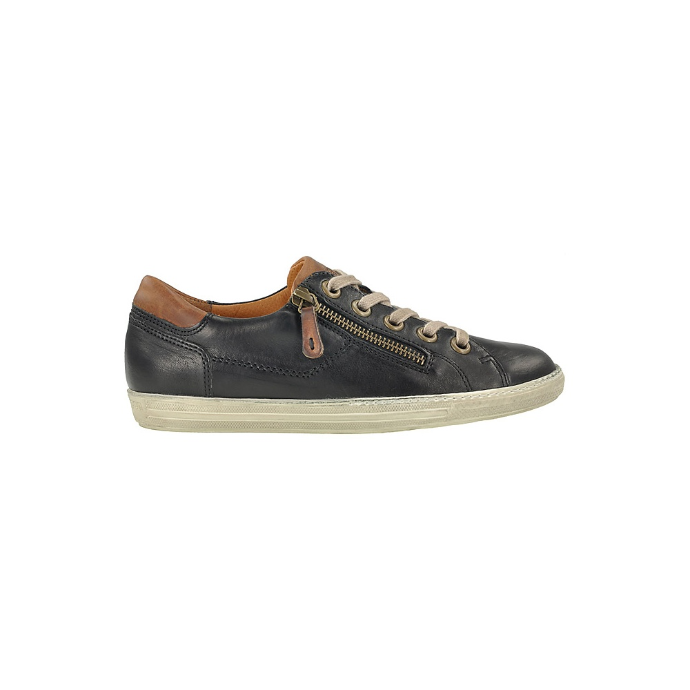63d247dd0e1c4 Paul Green 4128 Ladies Leather Trainer