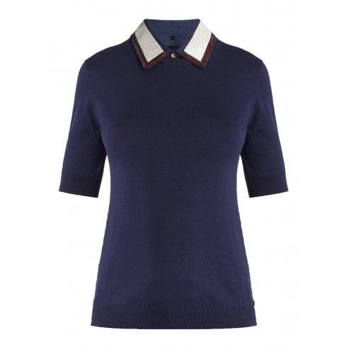 Penny Black Short Sleeve Sweater - Ole
