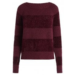 Penny Black Striped Sweater Olmo