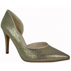 Danica Glitter Effect Court Shoe