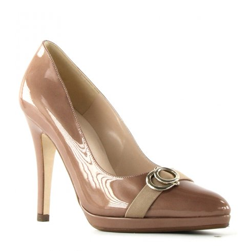 Peter Kaiser Hella High Heeled Patent Court Shoe