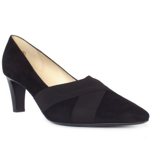 Peter Kaiser High Fronted Court Shoe Malana