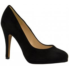 Naomi Suede Court Shoes