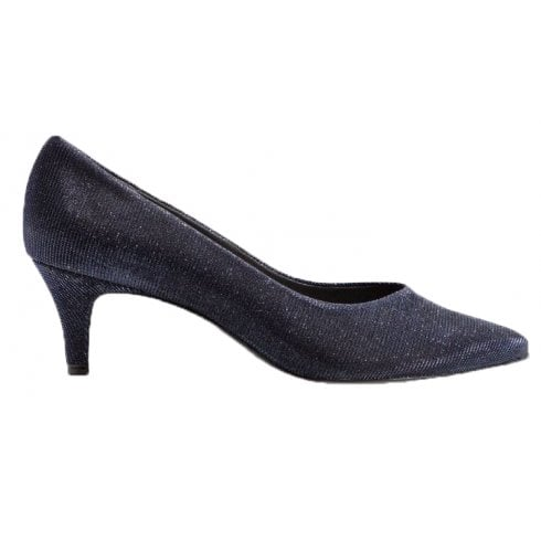 Peter Kaiser Pointed toe Shimmer Court Shoe - CALLAE 55391