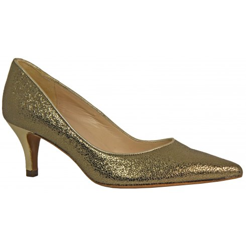 Peter Kaiser Saskia Glitter Effect Court Shoe