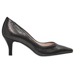 Saskia Glitter Effect Court Shoe
