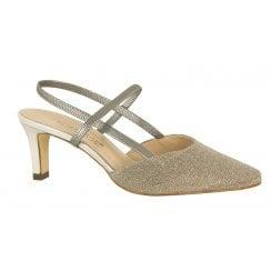 Peter Kaiser Shimmer Sling Back shoe - Mitty - 66387